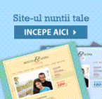 Site-ul nuntii tale in 5 minute