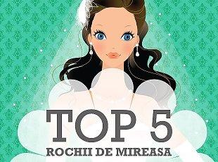 Top 5 saloane rochii de mireasa Timisoara
