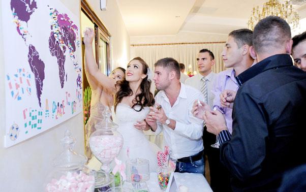 Poza harta bilete cu melodii nunta Bucuresti